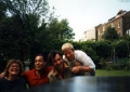 With Joan Le Mesurier and her son David Malin Circa 2002.