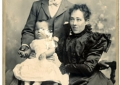 Andrew\'s Great Aunt Eva and her parents. To: Andrew\'s great aunt Eva and her parents.