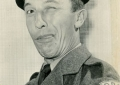 Harry Fowler in a publicity shot for the popular ITV show The Army Game, which ran from 1957 - 1961.