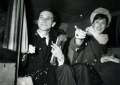 Brother Robin with Susan Stranks on their wedding day, January 25 1960.